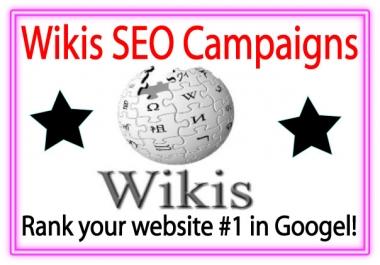Wiki Link Pyramids-- 5000 Mix profiles backlinks-30 DA (Domain Authority) 50+ Do-follow Backlinks