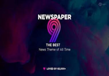 News Paper WordPress Theme
