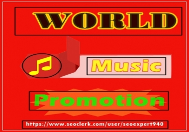 Promote Your Music 900K play to your Tracks