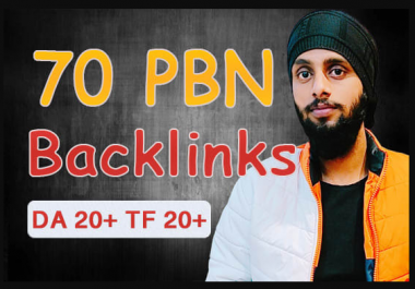 Post 70 High Tf Cf Pbn Backlinks In 24 Hours