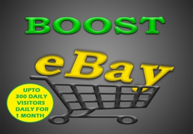 Boost Your eBay Store with Upto 300 Visitors Daily