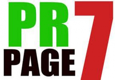 create 3 x PR7 backlink low obl of high quality on actual page rank