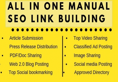 200+ All In One SEO Package Quality Backlinks To Boost Ranking