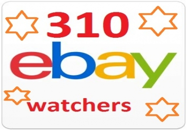 Safe Manually 310 Ebay watchers & collection to Rank your sales