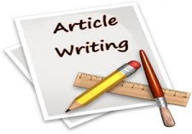 Unique write 4 articles of 400 words