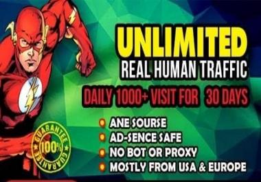 send 30,000 USA ,UK Keyword Target website traffic