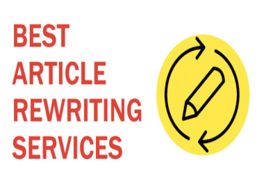 Manually rewrite 100 of your PLR articles