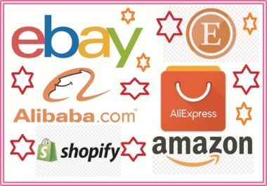 Marketing your any ebay-amazon-ebay-etsy-alibaba-alieExpress STore Boost your sale