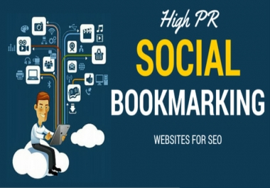 Manually provide 50+ high DA PR (70-90)  top social bookmarks backlinks(WHITE HAT)