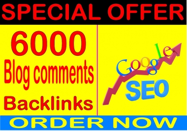 Powerful Link Building SEO-6000 Blog/image/other comments Backlinks
