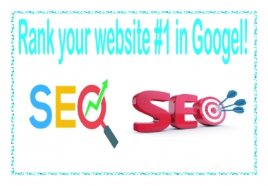 Rank Google 1st Page Rankings with All in One Seo Backlinks Package for your website