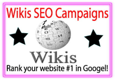 (SPECIAL OFFER) 30+ HQ Wiki backlinks MANUAL WHITEHAT WORK