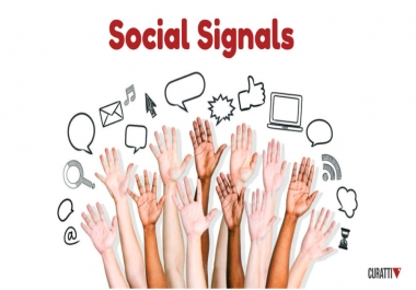 100+ Affective and Permanent High quality HQ PR Social Signals to boost your Link