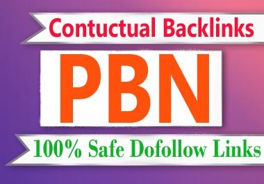 2021 Special 50 Permanent PBN HQ trust flow contextual backlinks
