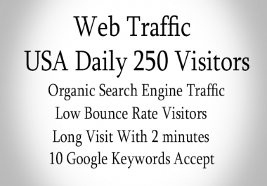 send real USA web traffic us long visit 2 min visitors