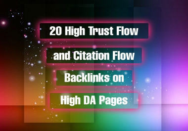 Provide 20 high Trust flow and citation flow Do-follow blog commenting on high DA