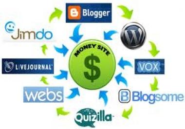 Make 200 web 2 0 seo microblogging dofollow backlinks