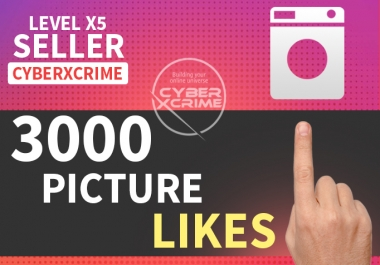 give 10 - 3000 LIKES on your picture