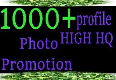 1000+ high quality / Non Drop / profile management