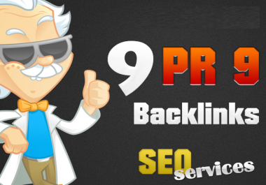 manually create 15+ Top  Quality SEO Friendly Back links from 15 unique PR9 Sites