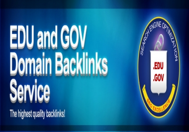create 33 edu and gov dofollow pr6 to pr9 backlinks using redirects