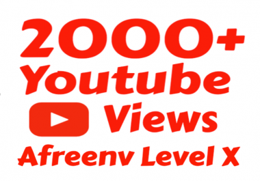 Get 2000+ High Quality YouTube Vie ws instant Start