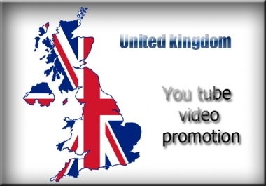 provide you UK Targeted video Promotion services