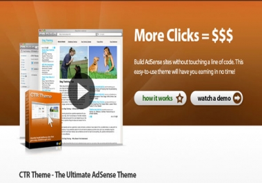 give Adsense CTR theme for wordpress