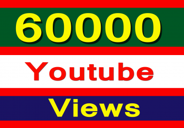 Cheapest 60000 Youtube VIEWS INSTANT 24-48 hours