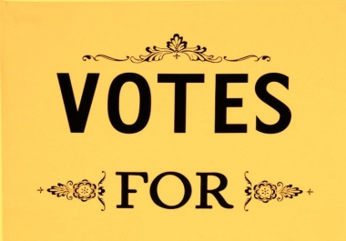 provide you 40 different usa, uk ip votes for any contest within 24 hours