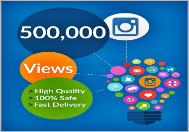 give you guaranteed 500000+ youtube views to your video