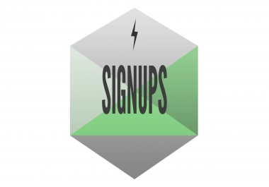 will provide you 20 signups any site or any country form different ips