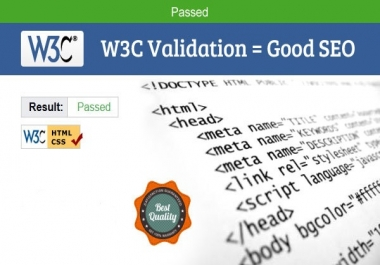 I will make your websites W3C Validated