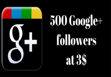I will provide you Real 300+ USA Google plus followers