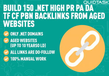 Create 150 HQ PBN Do-Follow Backlinks