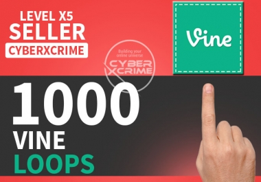 give you 1,000 Vine Loops