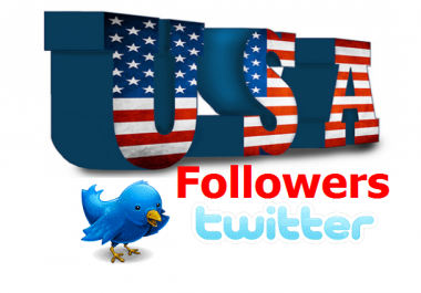500 USA followers to your account