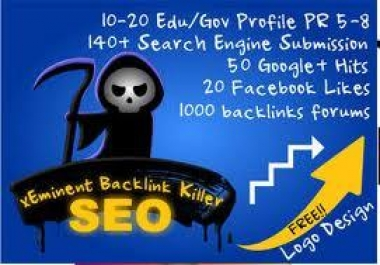 shoot 700+ Angela backlinks to rock your site on top of Google, include edu and gov backlink