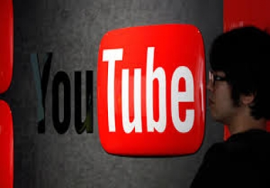 Give you 100 human youtube video like in your any youtube video