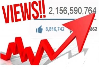 Need 300k Youtube views Non Drop