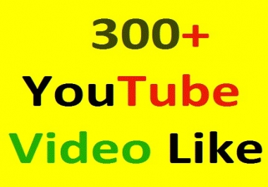 400+YouTube video like Very fast only for 1