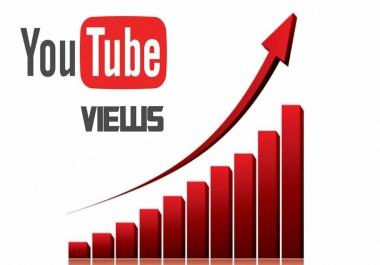 Non Drop YouTube view Lifitime Guarantee