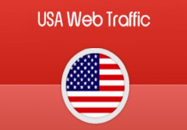 website traffic target USA 200,000 visitors needed 10