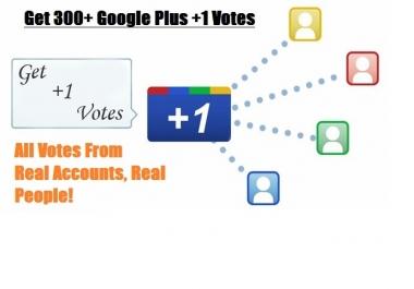 I need 100+ google plus vote