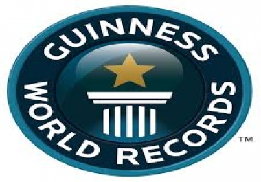Guinness World Record Help Needed