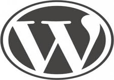 Custom Wordpress theme programming/design