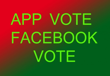 Facebook IP votes 2k