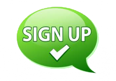 Looking for real 100 human confirmed Signups for social business network