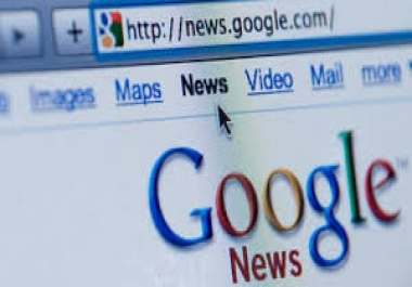 Submit Press Release To Google News Source