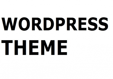 Looking wordpress theme